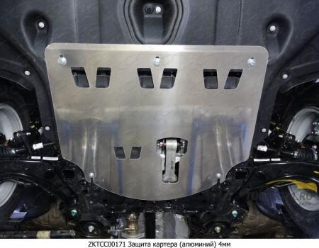 Hyundai Tucson 2015 Защита картера (алюминий) 4 мм