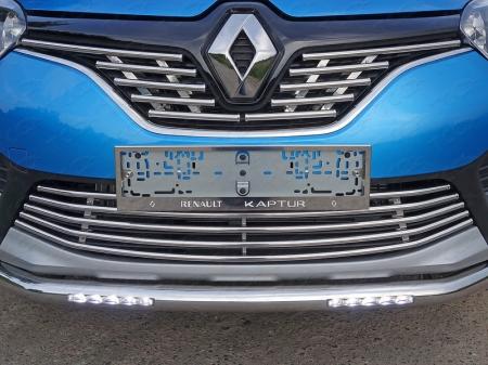 Renault Kaptur Рамка номерного знака (комплект 2шт) RENKAP-01RN