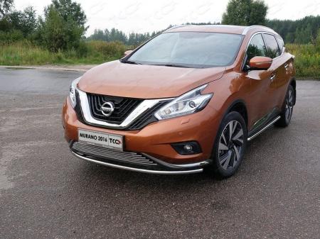 Nissan Murano 2016-Защита передняя нижняя 42,4 мм