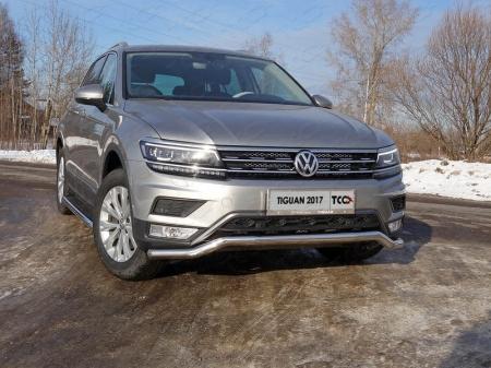 Volkswagen TiguanРамка номерного знака (комплект)