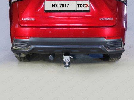 Lexus NX 200 2017- Фаркоп (оцинкованный, шар E)