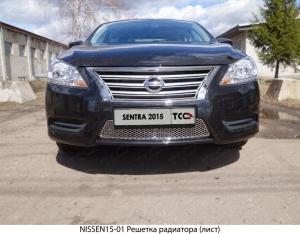 Решетка радиатора (лист) Nissan Sentra 2015 NISSEN15-01